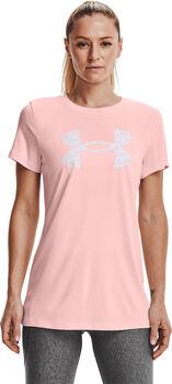 Under Armour Tech Twist t-shirt Dames Roze