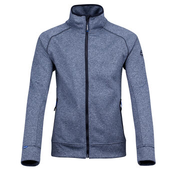 Falcon Dimitrie Full Zip longsleeveshirt Heren Blauw