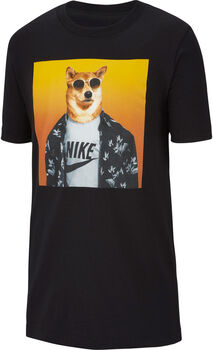 Nike Sportwear Futura Animal shirt Jongens Zwart