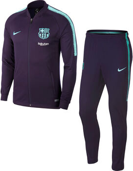 Nike Dry FC Barcelona Squad trainingspak Heren Paars