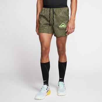 """Nike Flex Stride 5"""" Trail short Heren Bruin"""
