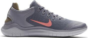Nike Free RN 2018 hardloopschoenen Dames Grijs