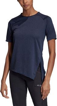 adidas Terrex Hike shirt Dames Blauw