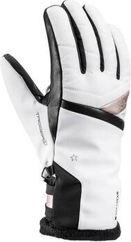 Leki Snowfox 3D handschoenen Dames Wit