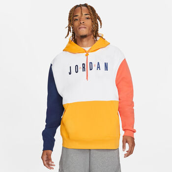 Nike Jordan Jumpman Air sweater Heren Wit