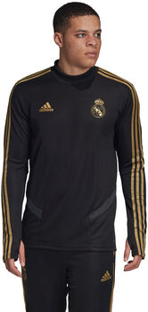 ADIDAS Real Madrid trainingshirt Heren Zwart