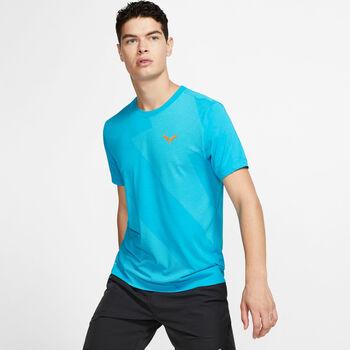 Nike Court Rafa shirt Heren Blauw