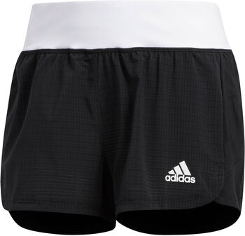 adidas Mesh 2-in-1 short Dames Zwart