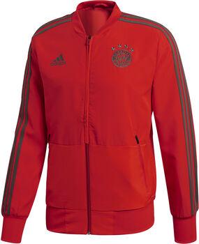 Adidas FC Bayern München Presentatie jack Heren Rood