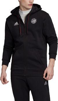 adidas Ajax Full Zip jack 2020/2021 Heren Zwart