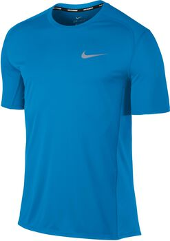 Nike Miler hardloopshirt Heren Blauw