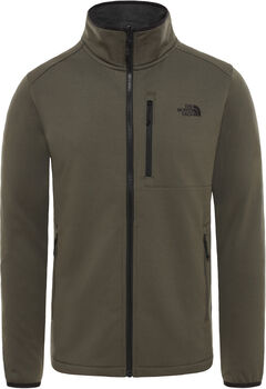 The North Face Arashi Overlay II fleece Heren Zwart