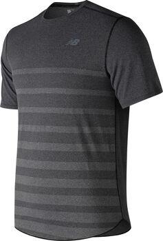 New Balance Q Speed Jacquard shirt Heren Zwart