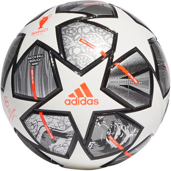 adidas Finale 21 20th Anniversary UCL Mini Voetbal Zilver