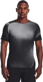 Under Armour HeatGear Rush 2.0 Print t-shirt Heren Zwart