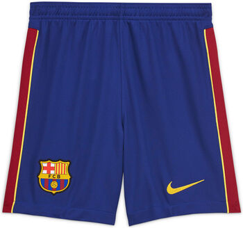 Nike FC Barcelona Stadion 2020/21 kids thuis-/uitshort 20/21 Blauw
