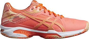 Asics Gel-Solution Speed 3 Clay L.E. tennisschoenen Dames Oranje
