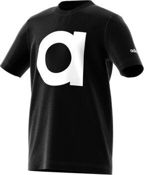 ADIDAS Essentials shirt Jongens Zwart