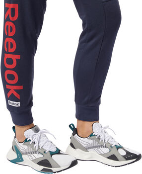 Reebok Training Essentials Linear Logo broek Dames Blauw