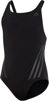 adidas Pro V 3-Stripes kids badpak  Meisjes Zwart
