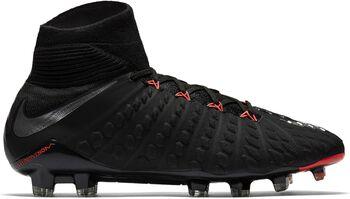 Nike Hypervenom Phantom III Dynamic Fit FG voetbalschoenen Heren Zwart