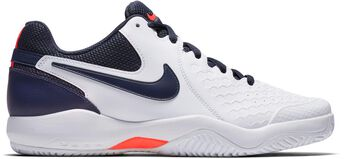 Nike Air Zoom Resistance tennisschoenen Heren Wit