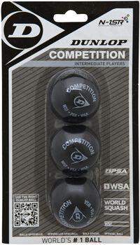 Dunlop Competition Blister squashballen Geel
