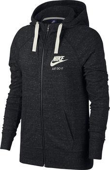 Nike Gym Vintage hoodie Dames Zwart