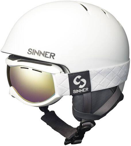 Sinner - Combi-pack ( Lost Trail , Toxic ) - Heren - Helmen - Wit - L