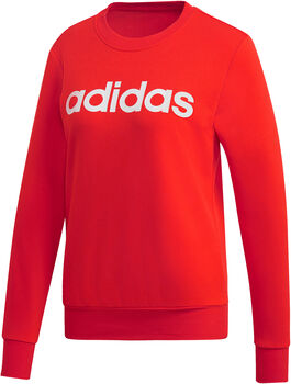 ADIDAS Essentials Linear sweater Dames Rood
