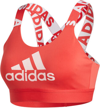 adidas Don't Rest Branded sport bh Dames Oranje