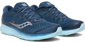 Saucony Ride ISO 2 hardloopschoenen Dames Blauw