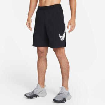 Nike Flex Camo Graphic short Heren Zwart