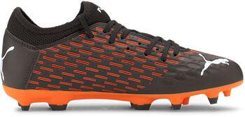 Puma Future 6.4 Netfit FG/AG kids voetbalschoenen Zwart