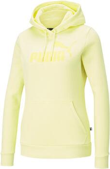 Puma Essential Logo hoodie Dames Geel