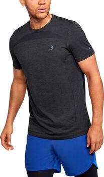 Under Armour RUSH™ Seamless Fitted t-shirt Heren Zwart