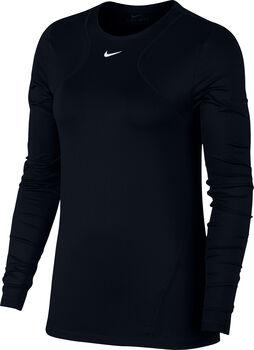 Nike All Over Mesh longsleeve Dames Zwart
