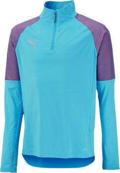 Puma FTBLNXT 1/4 Zip shirt Jongens Blauw