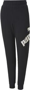 Puma Big Logo sweatpant Jongens Zwart