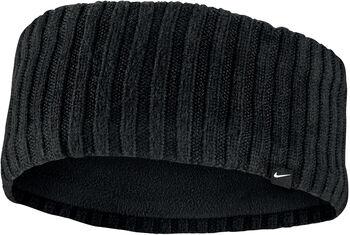 Nike Knit Wide hoofdband Zwart