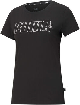 Puma Rebel Graphic shirt Dames Zwart