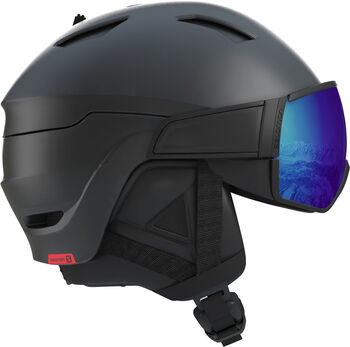 Salomon Driver Photo CD skihelm Heren Zwart