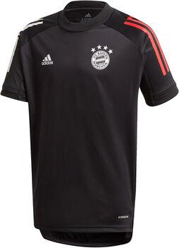 ADIDAS FC Bayern München Training Voetbalshirt 20/21 Jongens Zwart