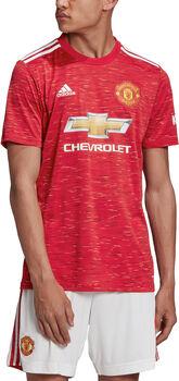 adidas Manchester United thuisshirt 2020/2021 Heren Rood
