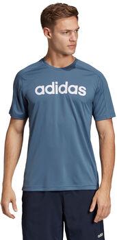ADIDAS Design 2 Move Climacool Logo shirt Heren Blauw