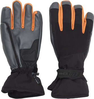 Sinner Wolf handschoenen Heren Zwart