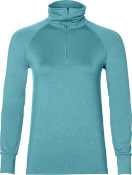 Asics Thermopolis 1/2 Zip sweater Dames Blauw