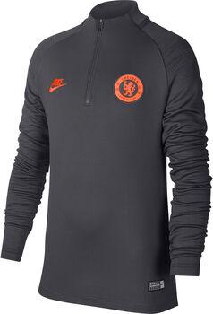 Nike Chelsea FC Dry Strike Drill shirt Jongens Zwart