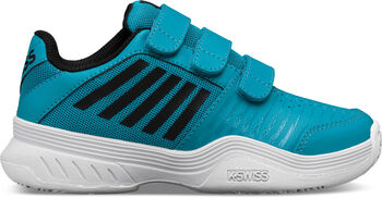 K-Swiss Court Express Strap Omni tennisschoenen Jongens Blauw