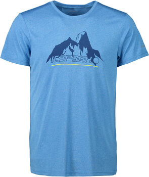 Icepeak Bayport t-shirt Heren Blauw